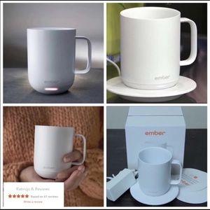 Ember White Temperature Control Mug